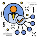 Accept Account Employee Icon