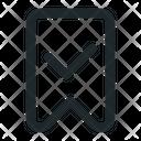 Accept bookmark Icon