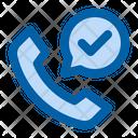 Accept Call Call Customer Icon