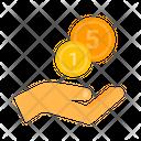 Accept Cash Icon