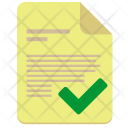 Accept File Contract Icon