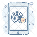 Accept Fingerprint Icon