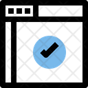 Accept Webpage Icon