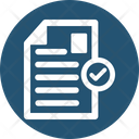 Accepted File Approved Document Approved File Icon
