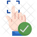 Accepted Fingerprint Icon