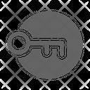 Access Login Key Icon