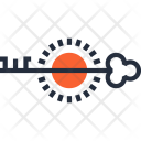 Access Key Lock Icon