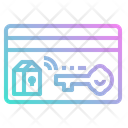 Access Room Key Icon