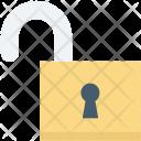 Access Open Lock Icon