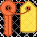Access Door Key Icon