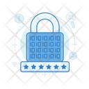 Access Code Locked Padlock Icon