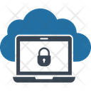 Access Control Cloud Cloud Access Security Cloud Computing Concept Icon