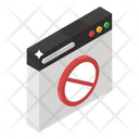 Access Denied Block Website Restricted Website Icon