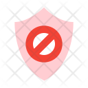 Access Denied Shield Icon