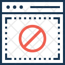 Access Denied Block Icon