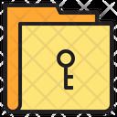 Key Folder Access Folder Icon