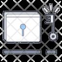 Access Kay Lock Login Icon