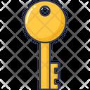 Key Password Access Icon