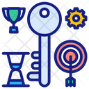 Access Key Business Credit Business Key Icon