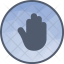 Accessibility Touch Gesture Icon
