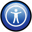 Accessibility Disability Help Icon