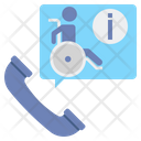 Accessibility Call Information Icon