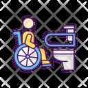 Accessible Toilet Icon