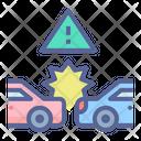 Collision Crash Car Icon