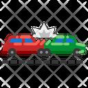 Cars Damaged Car Icon