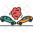 Accident Car Collision Icon