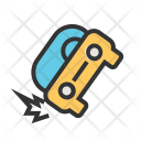 Accident Car Damage Icon