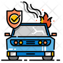 Accident Insurance Car Damage Vehicle Icon