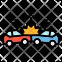 Crash Reach Car Icon
