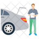Accident Report Insurance Report Accident Investigation Icon