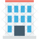 Accommodation Apartments Building Icon