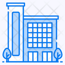 Accommodation Building Flats Icon