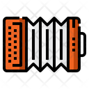 I Accordian Accordian Instrument Icon