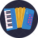 Music Instrument Accordian Icon