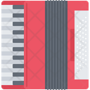 Accordion Music Instrument Icon