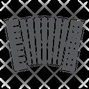 Accordion Music Keyboard Icon