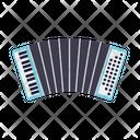 Accordion Squeezebox Harmonica Icon
