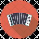 Accordion Squeezebox Keyboard Icon