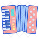 Accordion Music Song Icon