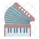 Accordion Piano Instrument Icon