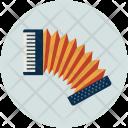 Accordion Harmonica Hand Icon