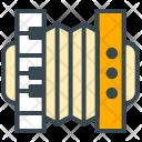 Accordion Music Equipment Icon