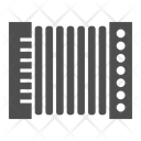 Accordion Musical Instrument Harmonica Icon