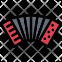 Accordion Culture Civilization Icon