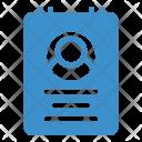 Account Cv Document Icon