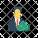 Account Profile Dollar Icon